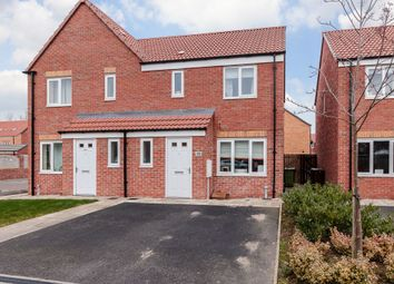 Thumbnail 3 bed semi-detached house for sale in Northfield Avenue, Pontefract, West Yorkshire