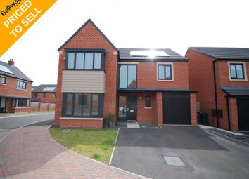 Thumbnail 4 bed detached house for sale in Brambling Place, Wideopen, Newcastle Upon Tyne