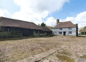 Thumbnail 3 bed detached house for sale in Throwley Forstal, Faversham, Kent