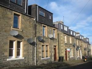 Thumbnail 2 bed flat to rent in Millburn Place, Selkirk, Borders
