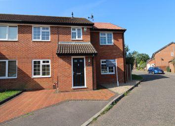 Thumbnail 4 bed semi-detached house for sale in Dulwich Close, Newport Pagnell, Buckinghamshire