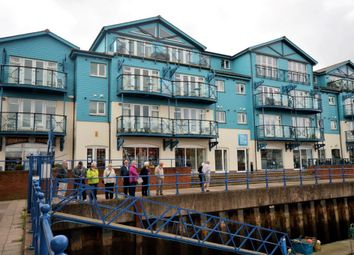 Thumbnail 2 bed flat for sale in Pilot Wharf, Pierhead, Exmouth, Devon