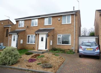 Thumbnail 3 bed semi-detached house for sale in Seaton Drive, Little Billing, Northampton