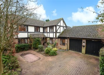 Thumbnail 6 bed detached house for sale in Foxdown Close, Camberley, Surrey