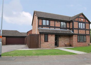 Thumbnail 4 bed detached house for sale in Hobby Close, East Hunsbury, Northampton