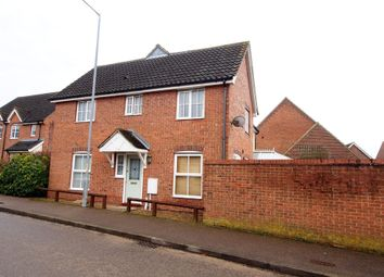 Thumbnail 3 bed semi-detached house for sale in Blackthorn Road, Wymondham