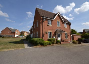 Thumbnail 3 bedroom semi-detached house to rent in Gladiator Close, Wootton, Northampton