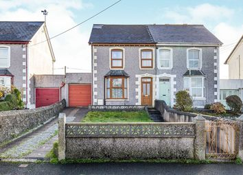 Thumbnail 3 bed semi-detached house for sale in Treslothan Road, Troon, Camborne