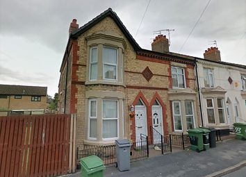 Thumbnail 4 bed end terrace house to rent in Craven Street, Birkenhead
