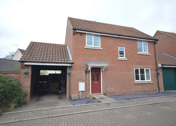 Thumbnail 3 bedroom link-detached house for sale in Beech Drive, Little Plumstead, Norwich