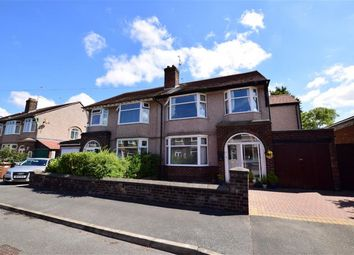 Thumbnail 4 bed semi-detached house for sale in Bangor Road, Wallasey, Merseyside