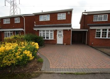 Thumbnail 3 bedroom detached house for sale in Gawsworth, Tamworth