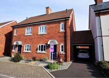 Thumbnail 3 bed semi-detached house for sale in Rushton Way, Wimborne