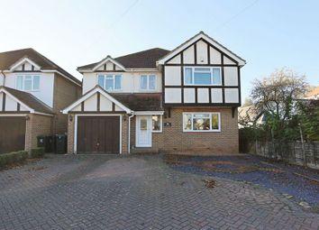 Thumbnail 4 bedroom detached house for sale in Riverside Avenue, Broxbourne, Hertfordshire.