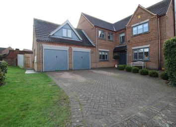 Thumbnail 5 bed detached house for sale in Manor Drive, Long Bennington, Newark