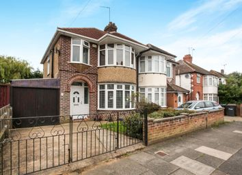 Thumbnail 3 bed semi-detached house for sale in Clevedon Road, Luton