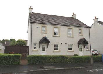 Thumbnail 3 bedroom semi-detached house for sale in Noddleburn Place, Largs, North Ayrshire