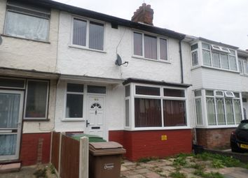 Thumbnail 3 bedroom terraced house to rent in Connaught Road, Luton