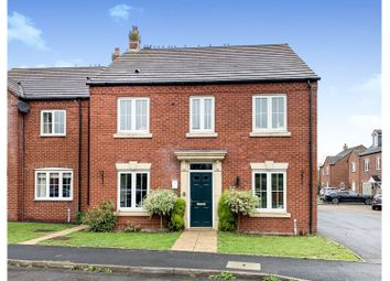Thumbnail 4 bed detached house for sale in Horner Avenue, Fradley, Lichfield