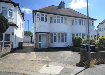 Thumbnail 3 bed semi-detached house for sale in Grove Gardens, London
