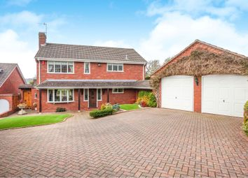 Thumbnail 4 bed detached house for sale in The Straits, Gornal