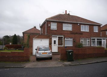 Thumbnail 3 bedroom semi-detached house for sale in Stoneylea Road, West Denton, Newcastle Upon Tyne