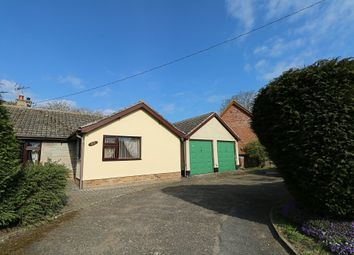 Thumbnail 3 bed detached bungalow for sale in Gallants Lane, East Harling, Norwich