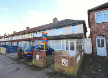 Thumbnail 3 bed terraced house for sale in Bounces Road, Edmonton