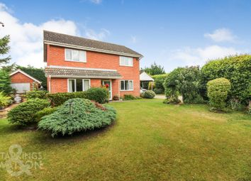 Thumbnail 3 bed detached house for sale in The Street, Woodton, Bungay
