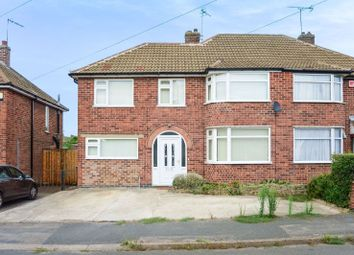 Thumbnail 4 bed semi-detached house for sale in Mapleton Road, Wigston, Leicester