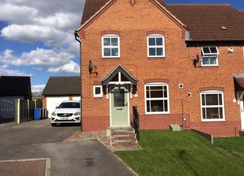 Thumbnail 3 bed terraced house to rent in Primrose Court, Mansfield Woodhouse, Nottinghamshire