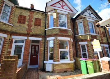 Thumbnail 3 bed terraced house for sale in St. Winifred Road, Cheriton, Folkestone