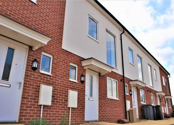 Thumbnail 3 bed terraced house to rent in Pattern Close, Bedford