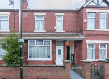 Thumbnail 4 bed terraced house for sale in Beresford Road, Stretford, Manchester