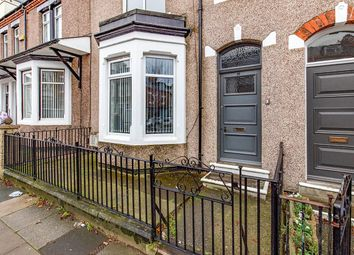 Thumbnail 3 bed terraced house for sale in Greenbank Road, Darlington