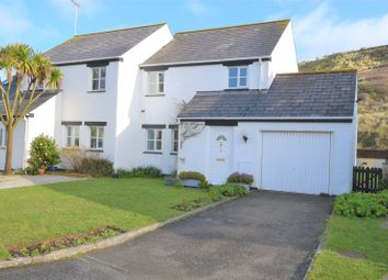 Thumbnail 3 bed semi-detached house for sale in Percy Davey Close, Perranporth, Cornwall