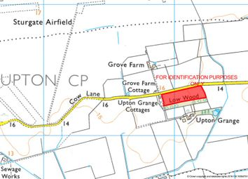 Thumbnail Land for sale in 7.16 Acres Or Thereabouts Grass Field, Cow Lane, Upton, Gainsborough, Lincolnshire
