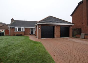 Thumbnail 3 bed bungalow for sale in Parklands Close, Rossington, Doncaster