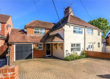 Thumbnail 3 bed semi-detached house for sale in Sandy Lane, Church Crookham, Fleet