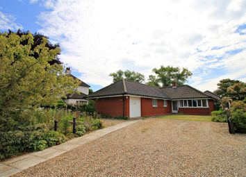 Thumbnail 4 bed detached bungalow for sale in Water Lane, Mundesley, Norwich