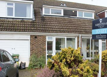 Thumbnail 3 bed property to rent in Windfield, Leatherhead
