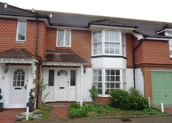 Thumbnail 1 bed terraced house to rent in Mill House Gardens, Worthing, West Sussex