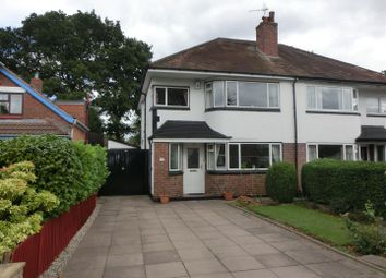Thumbnail 3 bed semi-detached house for sale in Falstaff Road, Shirley, Solihull