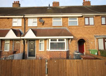Thumbnail 3 bed terraced house to rent in Stephenson Avenue, Walsall