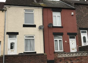 Thumbnail 2 bed terraced house to rent in Claremont Street, Rotherham