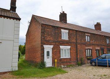 Thumbnail 2 bedroom end terrace house for sale in Dereham Road, Hempton, Fakenham, Norfolk.