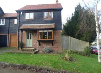 Thumbnail 3 bed link-detached house for sale in Peacock Place, Selling, Nr. Faversham, Kent