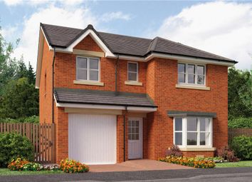 "Thumbnail 4 bed detached house for sale in ""Hughes"" at Stevenston Street, New Stevenston, Motherwell"