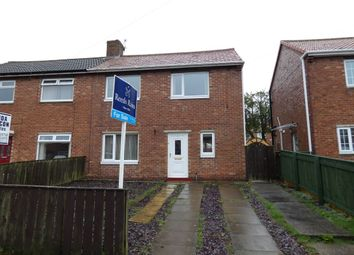 Thumbnail 2 bed semi-detached house for sale in Mccracken Drive, Wideopen, Newcastle Upon Tyne