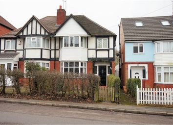 Thumbnail 3 bedroom semi-detached house for sale in Fordhouse Lane, Birmingham